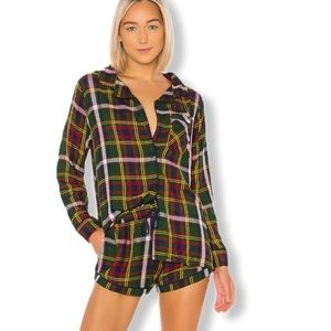 REVOLVE Plush Apparel Ultra Soft Plaid Pajama Set